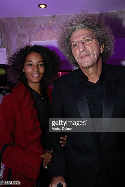 Elie Chouraqui and wife Isabel Sulpicy attend the The Bests Awards 2012 Ceremony at salons hoche on December 11 2012 in Paris France