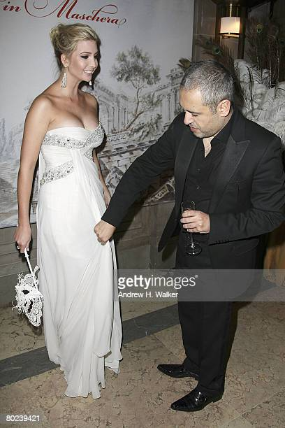 Elie Saab and Ivanka Trump attend the Young Fellows of The Frick Collection Annual Gala on March 13 2008 in New York City