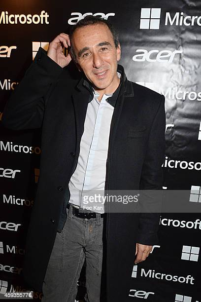 Elie Semoun attends the Acer Pop Up Store Launch Party at Les Halles on November 20, 2014 in Paris, France.