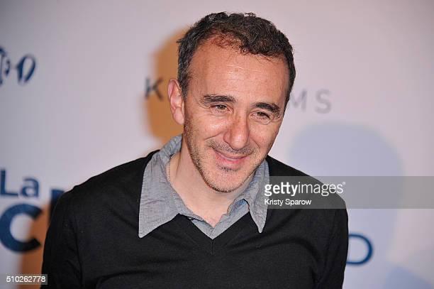 Elie Semoun attends the La Vache Paris Premiere at Pathe Wepler on February 14 2016 in Paris France