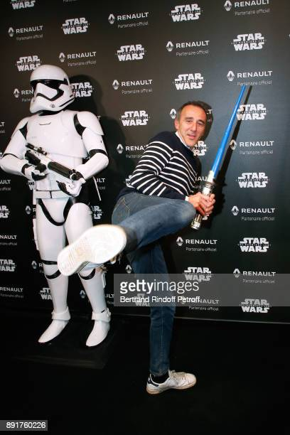 Elie Semoun attends the 'Star Wars x Renault' Party at Atelier Renault on December 13 2017 in Paris France