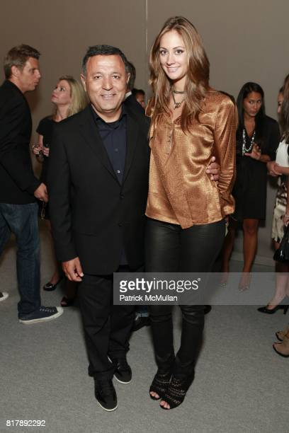 Elie Tahari and Erin Gray attend ELIE TAHARI Spring 2011 Fashion Show at The Studio at Lincoln Center on September 14 2010
