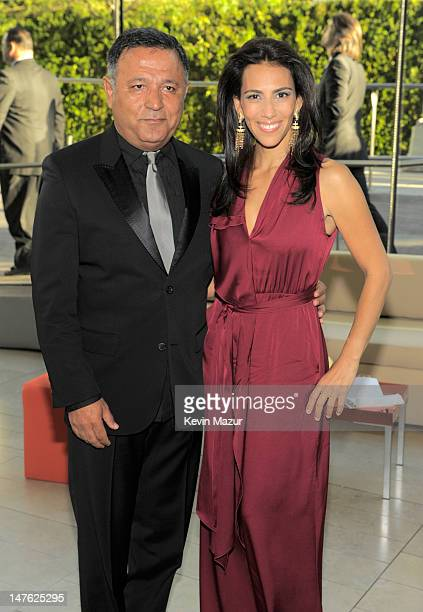 Elie Tahari and Rory Tahari attends the 2010 CFDA Fashion Awards at Alice Tully Hall, Lincoln Center on June 7, 2010 in New York City.