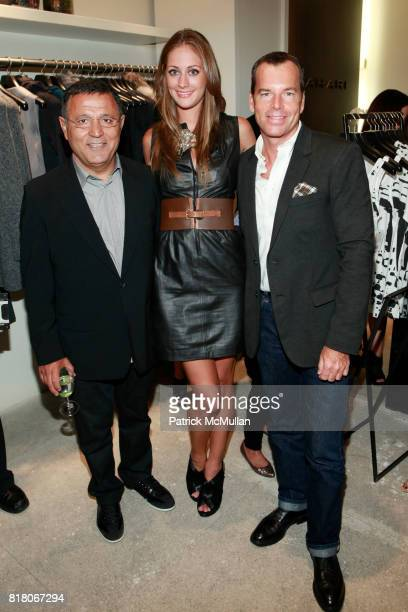 Elie Tahari Erin Gray and Scott Currie attend ELIE TAHARI SOHO Celebrates Fashion Night Out at Elie Tahari Store on September 10 2010 in New York City