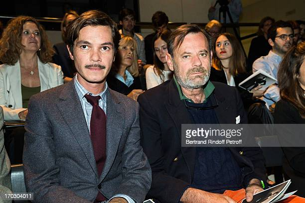 Elie Top and Louis Benech attend a tribute to late fashion designer Yves Saint Laurent at Opera Bastille on June 10 2013 in Paris France