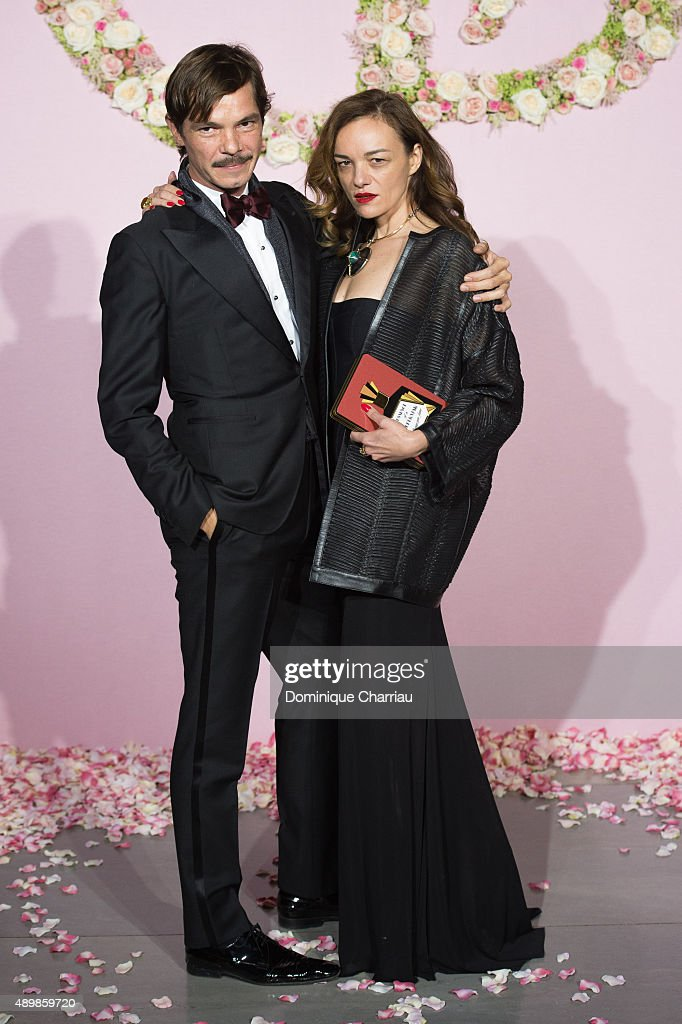 Elie Top and Yaz Bukey attend the Ballet National de Paris Opening Season Gala at Opera Garnier on September 24, 2015 in Paris, France.