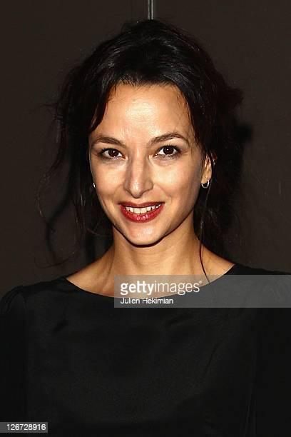 Eliette Abecassis attends 'Un Heureux Evenement' Paris premiere at UGC Cine Cite Bercy on September 26, 2011 in Paris, France.