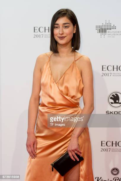 Elif Demirezer on the red carpet during the ECHO German Music Award in Berlin Germany on April 06 2017