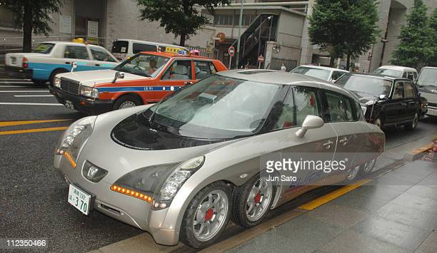 Eliica created by Hiroshi Shimizu and the Keio University Electric Vehicle Laboratory in Tokyo This vehicle featured 8wheels with 800bhp car