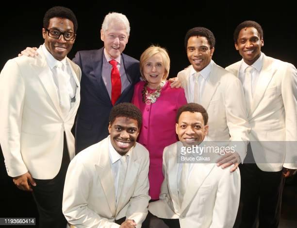 Elijah Ahmad Lewis, Jawan M. Jackson, 42nd President of the United States Bill Clinton, Hillary Clinton, Derrick Baskin, James Harkness and Jelani...