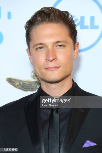 Elijah AllanBlitz attends 10th Annual Lumiere Awards at Warner Bros Studios on January 30 2019 in Burbank California