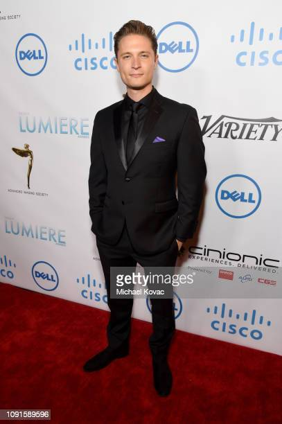 Elijah AllanBlitz attends the 10th Annual Lumiere Awards at Warner Bros Studios on January 30 2019 in Burbank