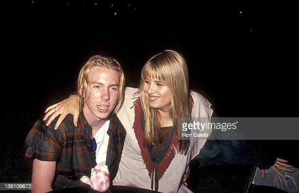 Elijah Blue Allman and Chastity Bono attend Richie Sambora's Stranger in This Town Album Release Party on September 4 1991 at Griffith Park in Los...