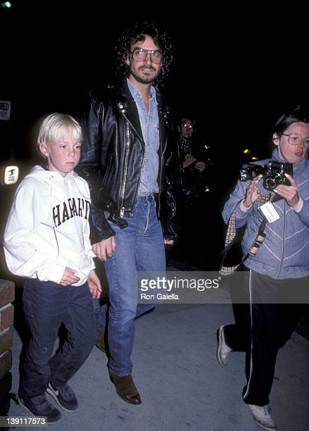 Elijah Blue Allman and Josh Donen attend the Mask West Hollywood Premiere on March 5 1985 at DGA Theatre in West Hollywood California
