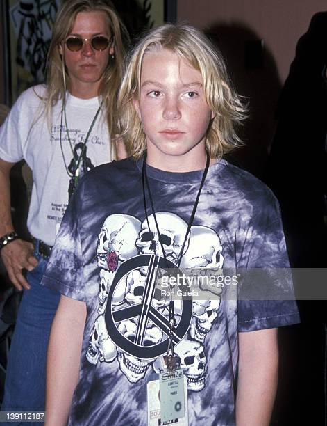 Elijah Blue Allman attends Cher's concert performance on August 17 1989 at the Sands Casino Hotel in Atlantic City New Jersey