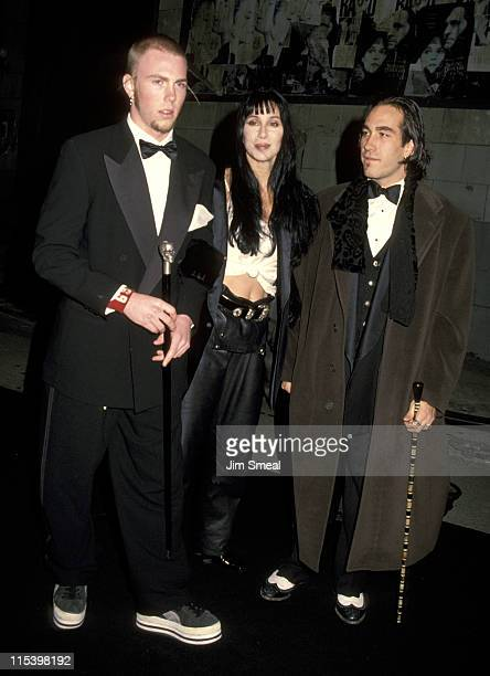 Elijah Blue Allman Cher and guest during 5th Annual Fire and Ice Ball to Benefit Revlon UCLA Women Cancer Center at 20th Century Fox Studios in...