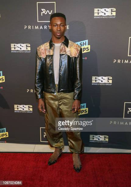 Elijah Boothe attends Primary Wave 13th Annual PreGRAMMY Bash at The London West Hollywood on February 9 2019 in West Hollywood California