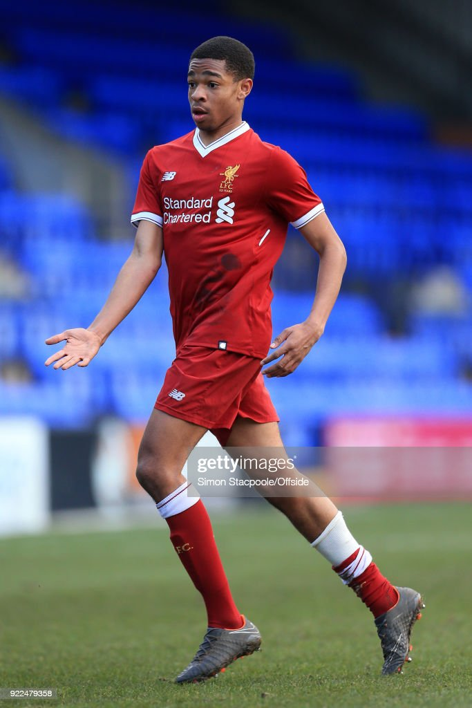 Liverpool v Manchester United - UEFA Youth League : Nachrichtenfoto