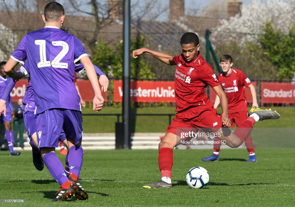 Liverpool v Stoke City: U18 Premier League : News Photo