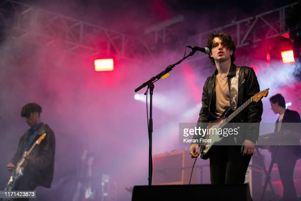 Elijah Hewson of Inhaler performs on stage during Electric Picnic Music Festival 2019 at on August 31 2019 in Stradbally Ireland