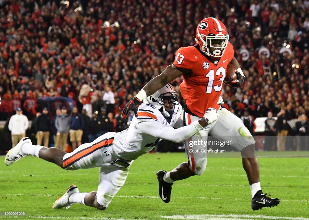 Auburn v Georgia : News Photo