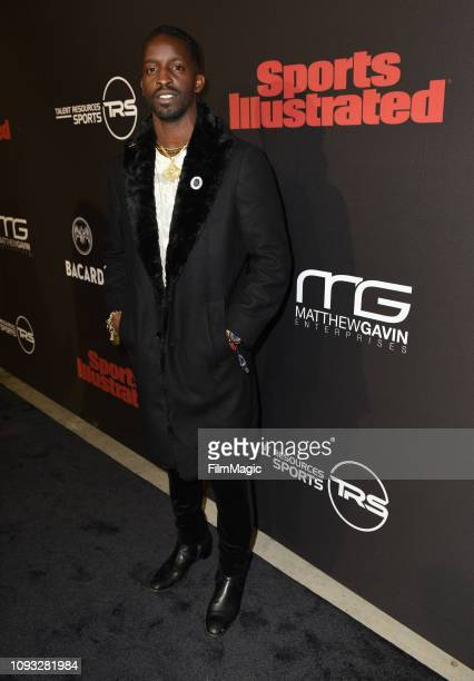 Elijah Kelley attends Sports Illustrated Saturday Night Lights powered by Matthew Gavin Enterprises and Talent Resources Sports on February 2 2019 in...