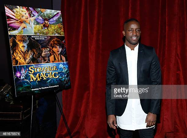 Elijah Kelley attends The New York Special Screening Of Lucasfilm's STRANGE MAGIC At The Tribeca Grand Hotel Hosted By The Cinema Society on January...