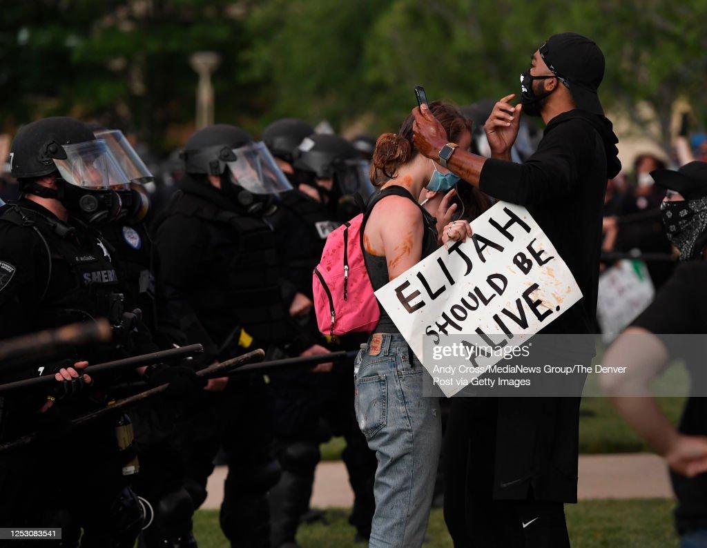 Elijah McClain Protest : News Photo