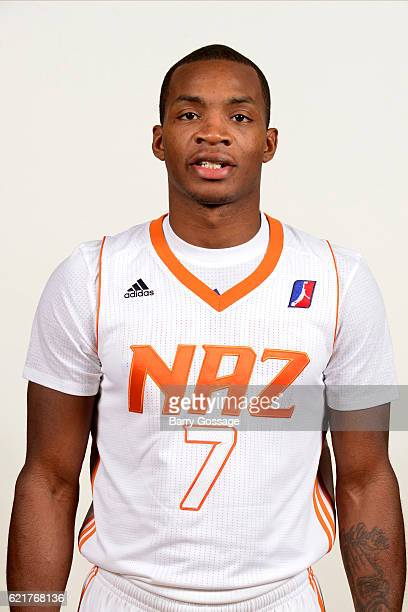 Elijah Millsap of the Nothern Arizona Suns poses for a photo during Media Day on November 4 at Bradshaw Mountain High School East Campus in Prescott...