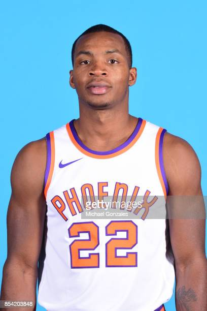Elijah Millsap of the Phoenix Suns poses for a head shot during media day on September 25 2017 at the Talking Stick Resort Arena in Phoenix Arizona...