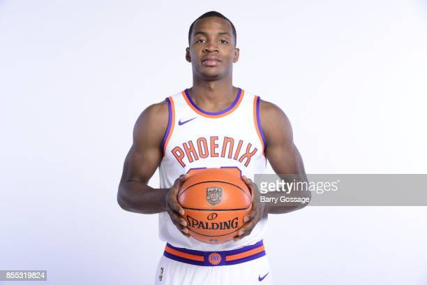 Elijah Millsap of the Phoenix Suns poses for a portrait at the Talking Stick Resort Arena in Phoenix Arizona NOTE TO USER User expressly acknowledges...