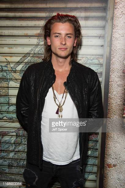 Elijah Rowen attends a VIP event in celebration of his birthday at ICEBAR on August 17 2019 in London England