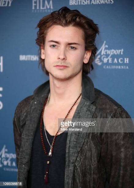Elijah Rowen attends the Newport Beach Film Festival UK honours event at The Langham Hotel on February 7 2019 in London England