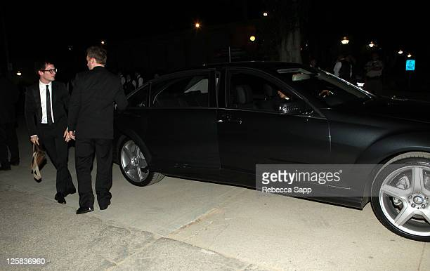 """Elijah Wood arrives at The Art Of Elysium Fourth Annual Black Annual Black Tie Charity Gala """"Heaven"""" at the Annenberg Building on January 15, 2011 in..."""