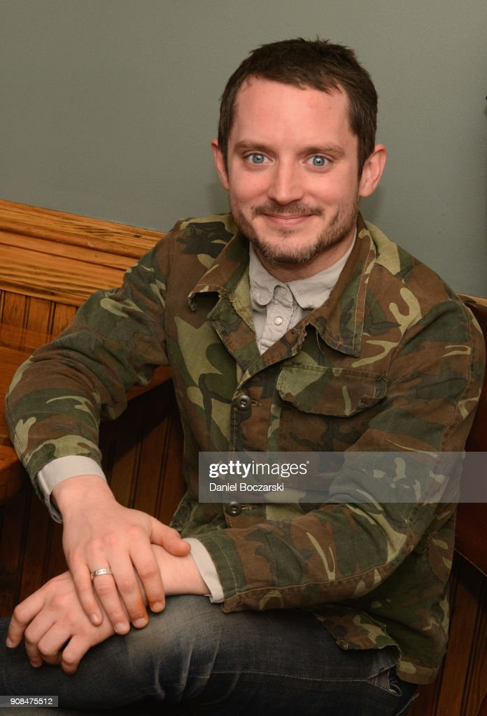 Elijah Wood attends Brunch with the Brits during the 2018 Sundance Film Festival on January 21, 2018 in Park City, Utah.