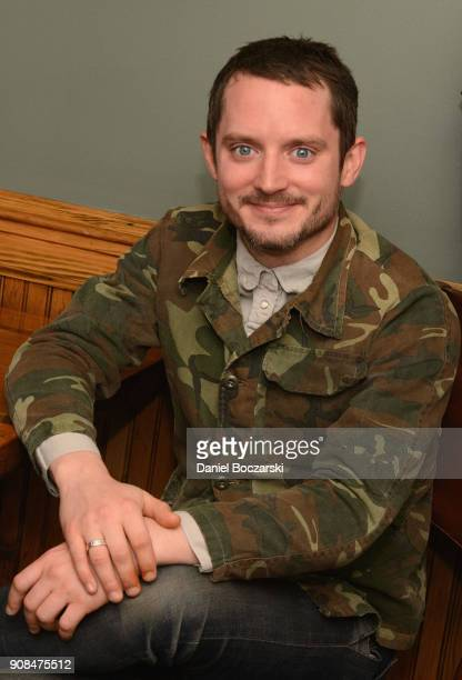 Elijah Wood attends Brunch with the Brits during the 2018 Sundance Film Festival on January 21 2018 in Park City Utah