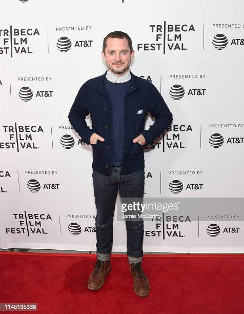 Elijah Wood attends the Come To Daddy screening at the 2019 Tribeca Film Festival at SVA Theater on April 25 2019 in New York City