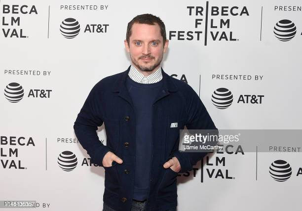 """Elijah Wood attends the """"Come To Daddy"""" screening at the 2019 Tribeca Film Festival at SVA Theater on April 25, 2019 in New York City."""