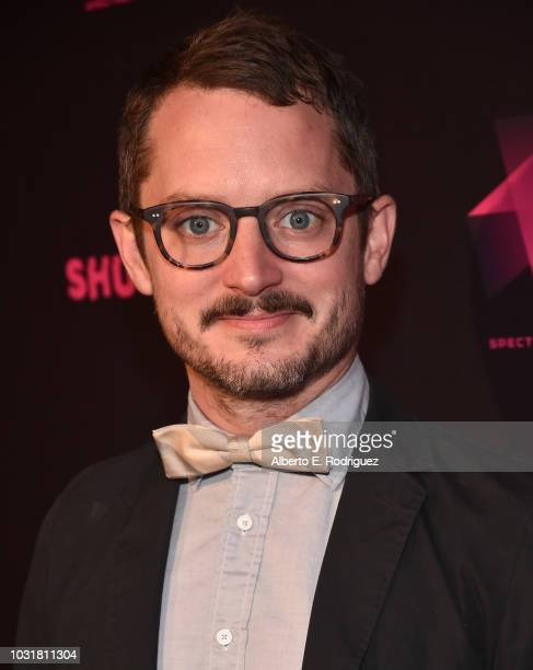 Elijah Wood attends the Los Angeles Special Screening And QA Of Mandy At Beyond Fest at the Egyptian Theatre on September 11 2018 in Hollywood...