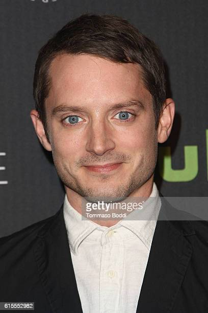 Elijah Wood attends the PaleyLive LA Dirk Gently's Holistic Detective Agency premiere screening and conversation at The Paley Center for Media on...