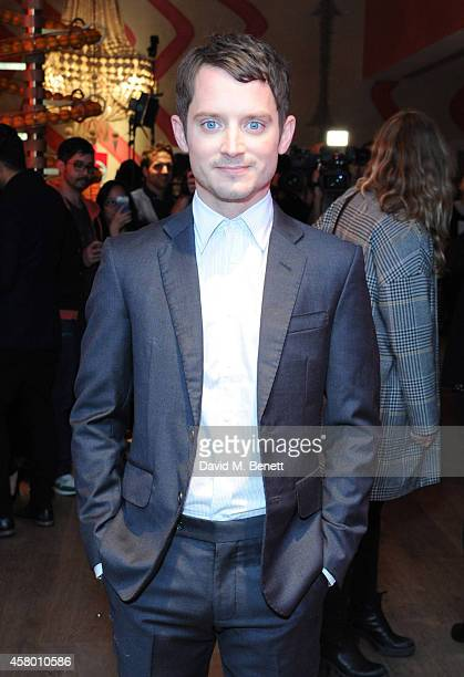 Elijah Wood attends the UK Premiere of 'Set Fire To The Stars' at The Ham Yard Hotel on October 28 2014 in London England