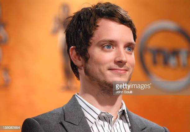 Elijah Wood during 13th Annual Screen Actors Guild Awards Nominations at Pacific Design Center in Los Angeles California United States