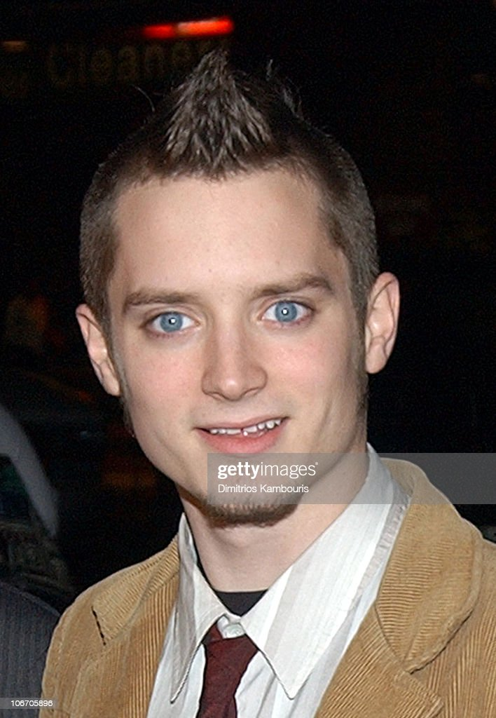 Elijah Wood during 1st Annual LAByrinth Theater Company Celebrity Charades Benefit presented by Gotham and LA Confidential Magazine at Daryl Roth Theater in New York City, New York, United States.