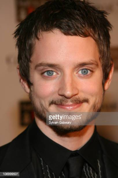 Elijah Wood during Conde Nast Media Group Presents 'The Black Ball' To Benefit 'Keep A Child Alive' Red Carpet at Hammerstein Ballroom at 311 West...