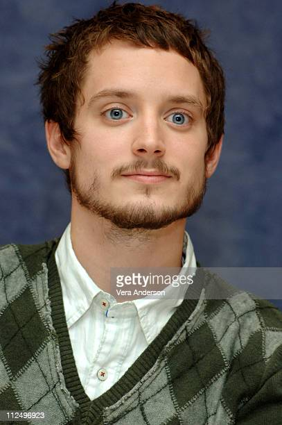 Elijah Wood during 'Happy Feet' Press Conference with Robin Williams George Miller and Elijah Wood at Regent Beverly Wilshire Hotel in Beverly Hills...