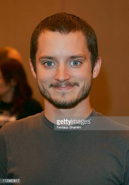 Elijah Wood during London Film Comic Convention 2006 at Earls Court 2 in London Great Britain