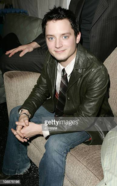 Elijah Wood during The 20th Annual IFP Independent Spirit Awards - Green Room in Santa Monica, California, United States.