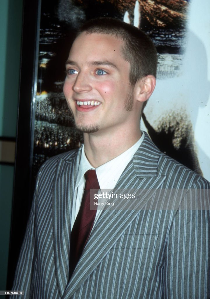 Elijah Wood during 'The Lord Of The Rings: The Two Towers' Los Angeles Premiere - Arrivals at Cinerama Dome Theatre in Hollywood, California, United States.