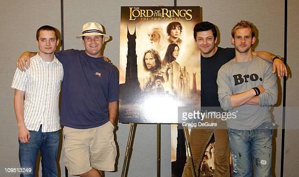 Elijah Wood Sean Astin Andy Serkis Dominic Monaghan