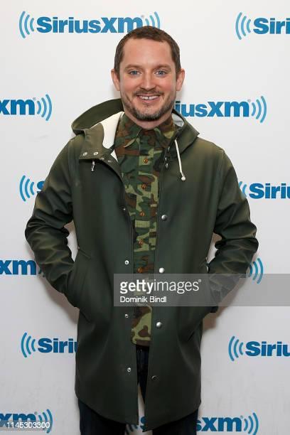 Elijah Wood visits SiriusXM Studios on April 26 2019 in New York City